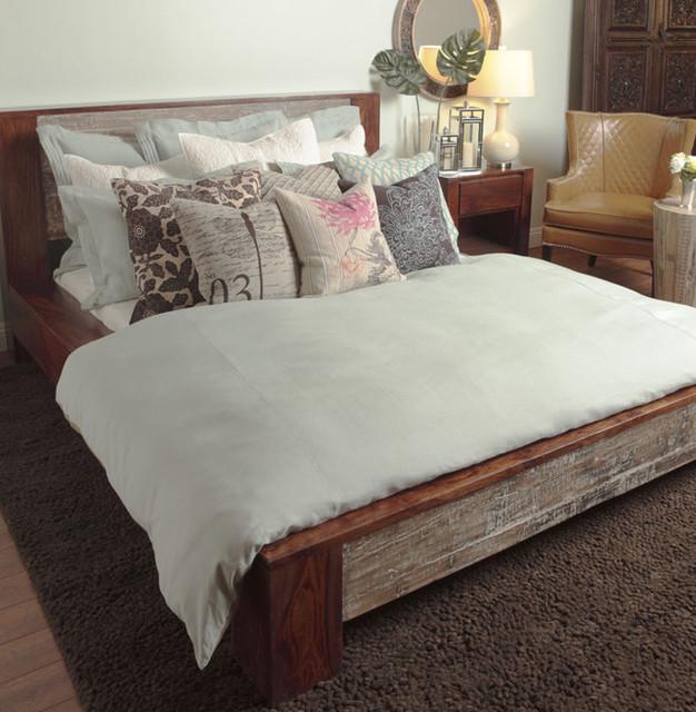 Rustic Eco Friendly Bedroom Eclectic Bedroom New York By Zin Home