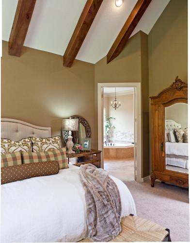Rustic elegance rustic bedroom houston by by for Rustic elegant bedroom designs