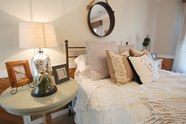 Rustic Glam Guest Bedroom Country Bedroom