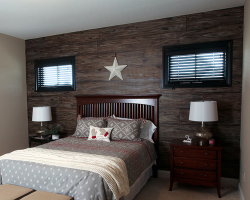 Rustic Bedroom By Lewis Center Interior Designers Decorators Instyle Interiors