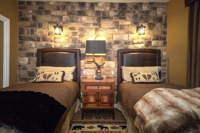 RUSTIC GUEST QUARTERS rustic-bedroom