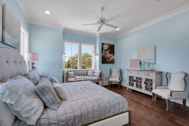 Rustic mediterranean country bedroom tampa by bob for Bob chatham house plans