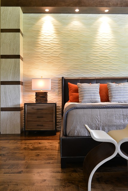 Rustic Modern Home Transitional Bedroom Dallas By