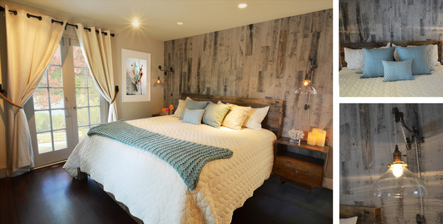 Rustic Modern Master Bedroom Rustic Bedroom Other Metro By Kim Colwell Design