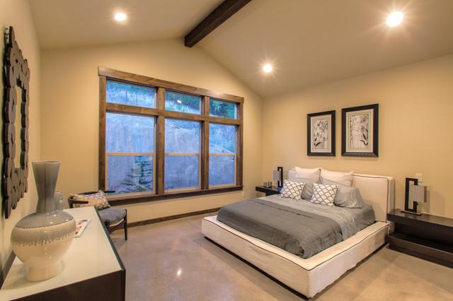 Rustic Modern Master Bedroom Modern Bedroom Other By Monarch Development Inc