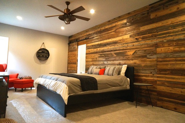 Sioux Falls Rustic Industrial Remodel Industrial Bedroom By Creative Building Corporation