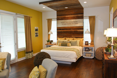 Rustic Bedroom by Medford Interior Designers & Decorators Terra Firma Home