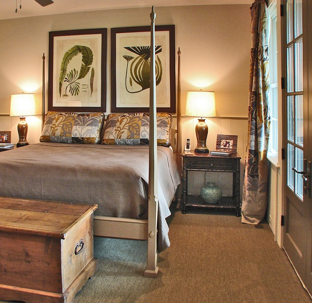 Rustically Refined rustic-bedroom
