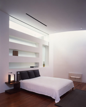 Ryan associates new homes soma townhouse - Modern wall niche designs ...