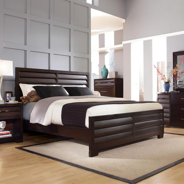 panel bed traditional bedroom new york by nyc bed furniture