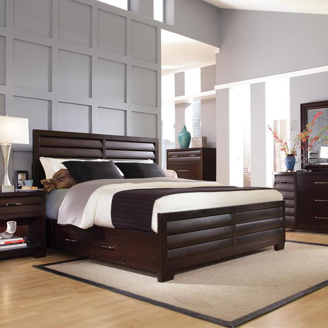 with storage traditional bedroom new york by nyc bed furniture