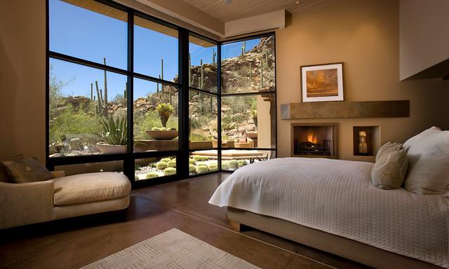 Saguaro Ranch contemporary-bedroom