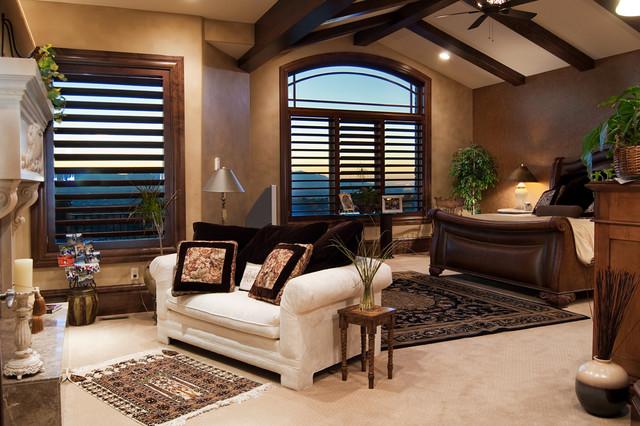 Salt lake city utah luxury home by markay johnson construction traditional bedroom salt for Salt lake city bedroom furniture