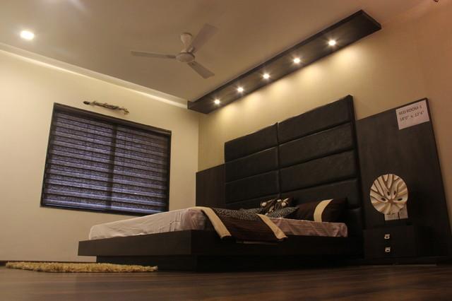 Sample flat for imperial regency at vesu surat for Sample bedroom designs