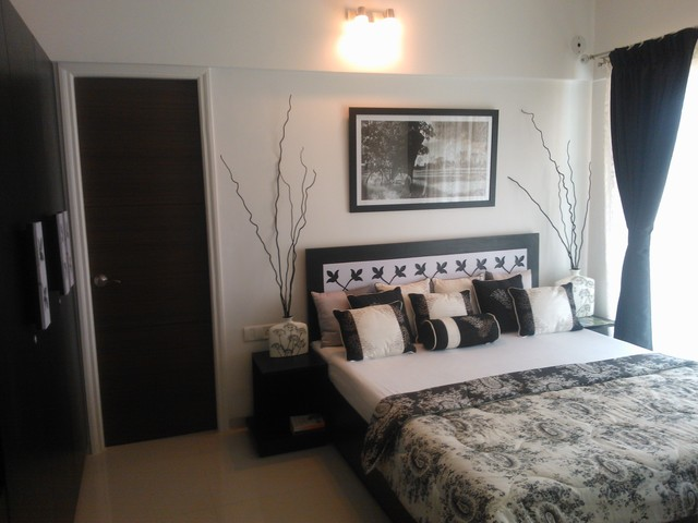 Sample flat contemporary bedroom other metro by evermore homes for Bedroom samples interior designs