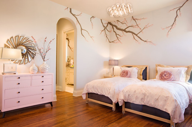 San Antonio Parade Home Finishing Touches Interior Design Eclectic Bedroom