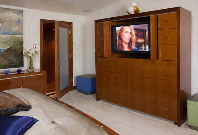 San Diego Contemporary Contemporary Bedroom Other