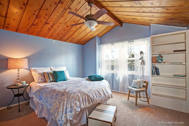 San diego home staging redding rd contemporary bedroom for Modern home decor san diego