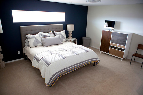 love the blue accent wall---what brand and color name? thanks!