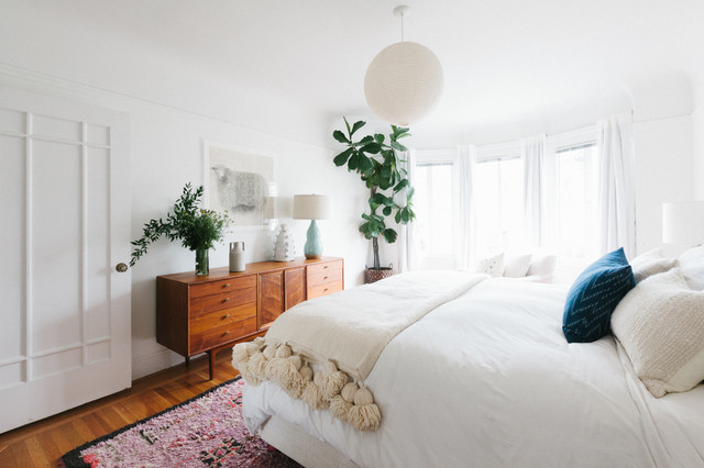 San Francisco Flat - Midcentury - Bedroom - San Francisco - by Heidi ...