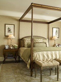 San francisco pacific heights residence klassisch schlafzimmer san francisco von tres Brown and green master bedroom ideas