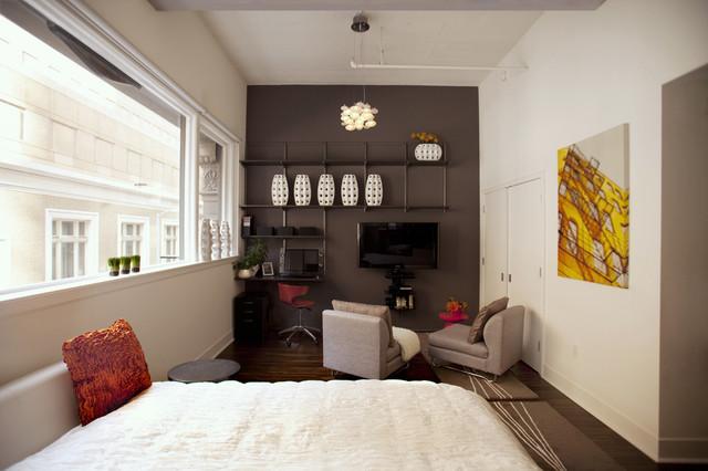 San Francisco Urban Studio modern-bedroom