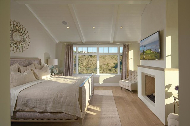 Sandcastle Beach Style Bedroom Orange County By Brandon Architects Inc