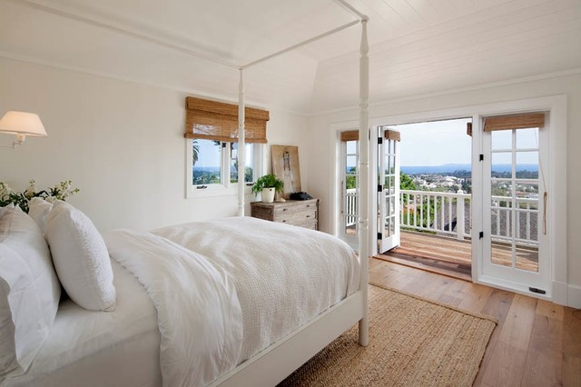 Santa Barbara Beach Cottage Style Bedroom
