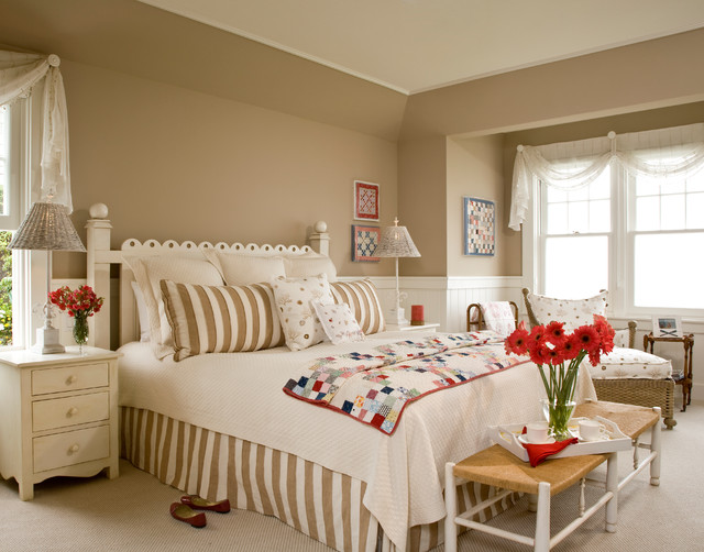 Interior Designers Decorators Santa Barbara Dutch Colonial Beach Style Bedroom