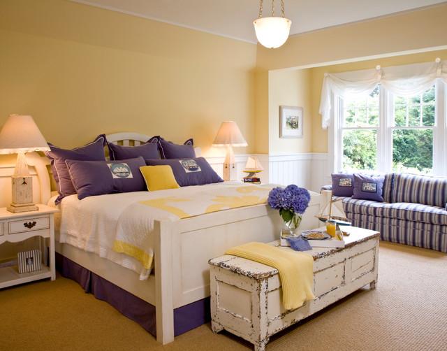 Santa Barbara Dutch Colonial beach-style-bedroom