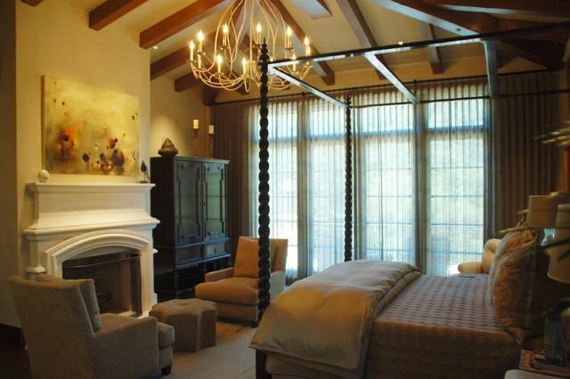 Santa barbara mediterranean style mediterranean bedroom san francisco by william for Mediterranean style bedroom set