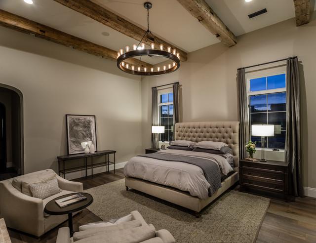 Enjoyable Santa Barbara Style Custom Estate Transitional Bedroom Interior Design Ideas Gentotryabchikinfo