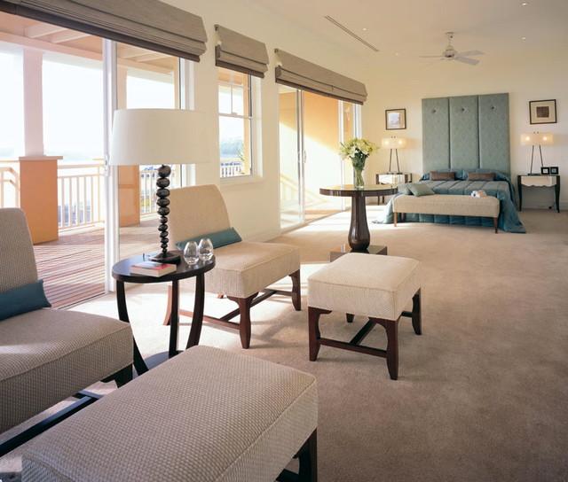 Santa Fe contemporary-bedroom