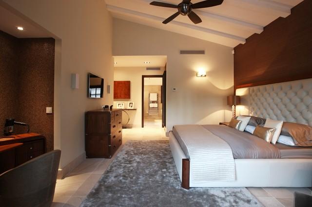 Santa ponsa villa mediterranean bedroom manchester for Villa interior designers ltd nairobi kenya