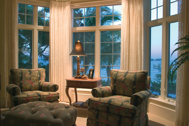 """Sater Group's """"Seabrook"""" Custom Home Design.. eclectic-bedroom"""