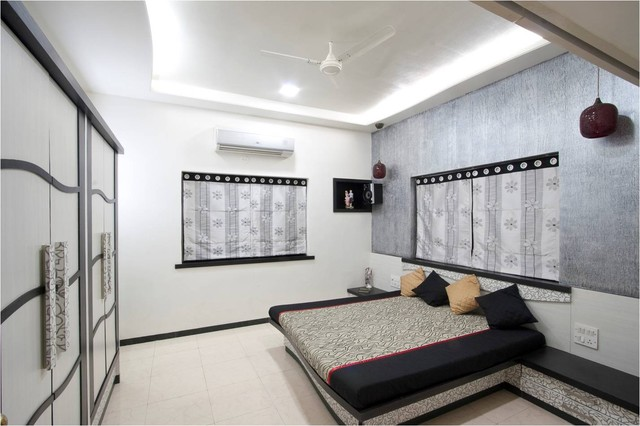 satishs bedroom contemporary-bedroom