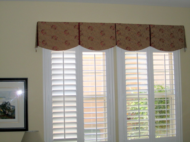 scalloped box pleat valance transitional bedroom phoenix by