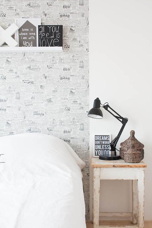 9 Ideen, mit Tapete die Wand (und Decke!) zu verschönern