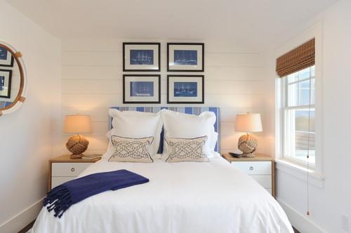beach-style-bedroom 15 Beautiful Nautical Lighting Design Examples