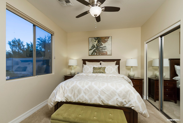 Scottsdale Vacation Rental Whole House Interior Design Transitional Bedroom Phoenix By