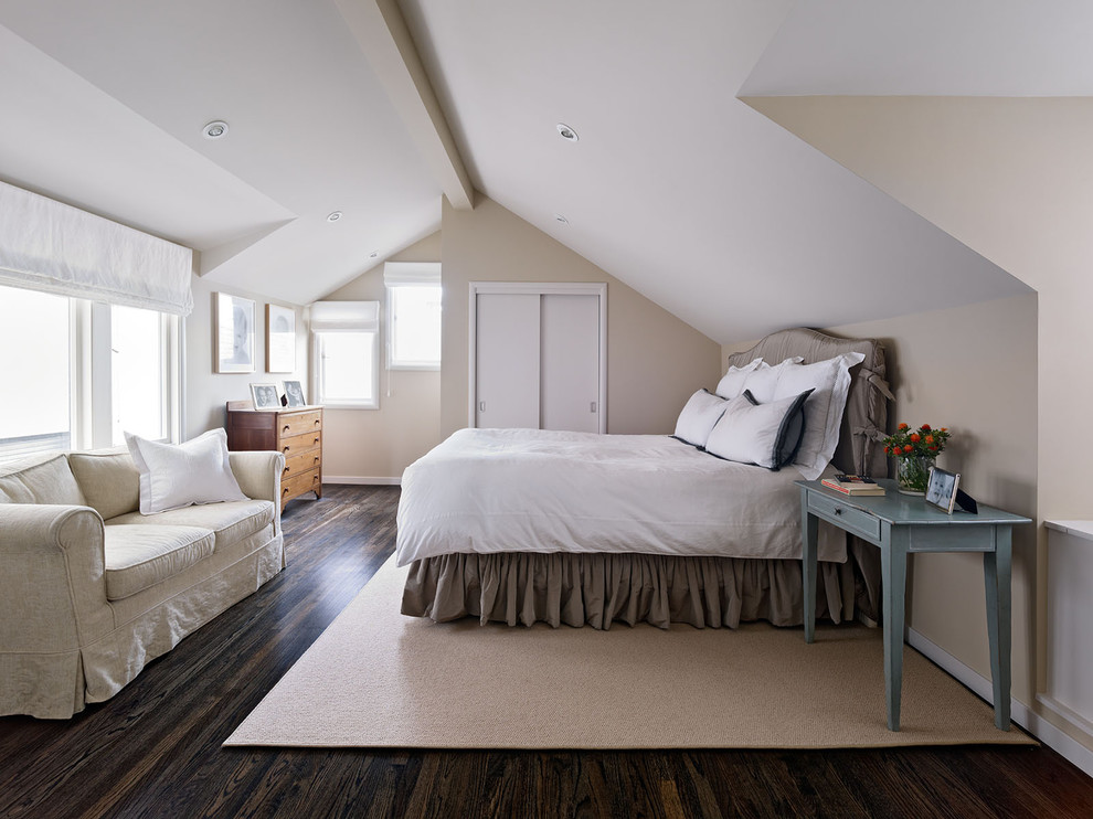 Inspiration for a contemporary bedroom remodel in San Francisco