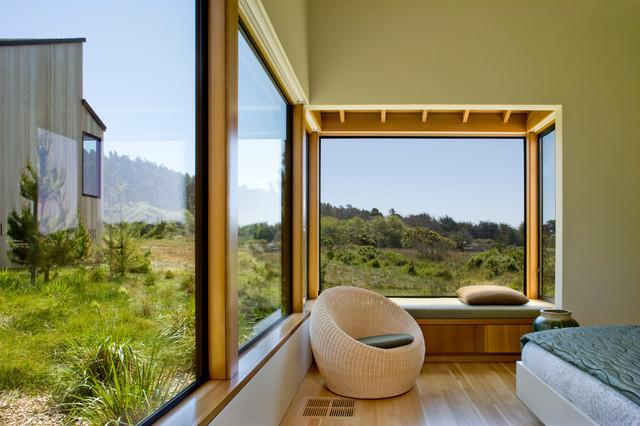 Sea Ranch Residence 1 rustico-camera-da-letto