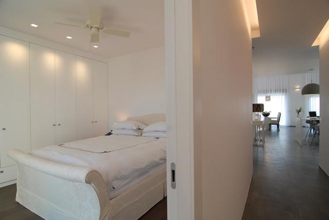 sea view contemporary-bedroom