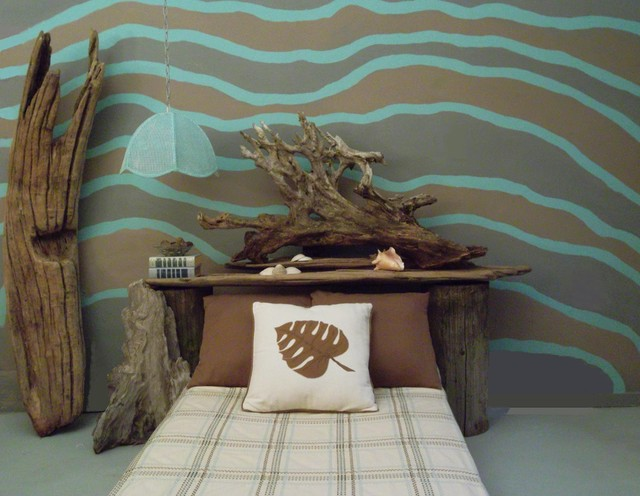 Seaside Bedroom tropical bedroom