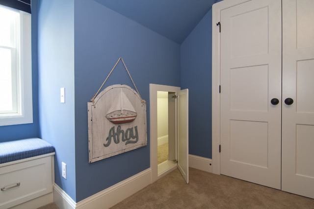 Secret Passageway between kids Bedrooms traditional bedroom