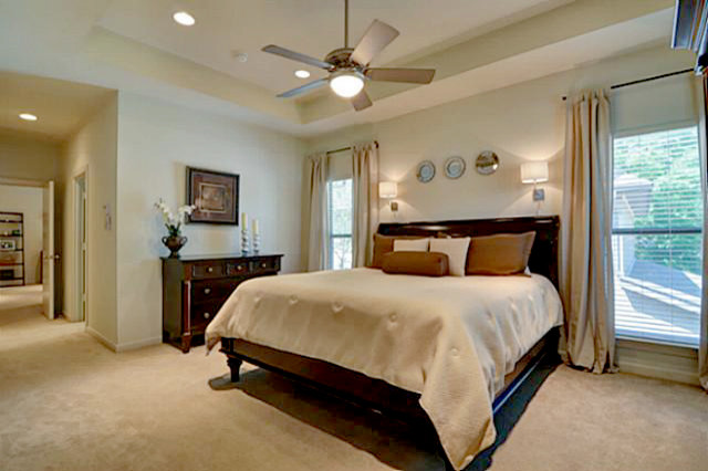 Seidenberger Duplex Master Traditional Bedroom Dallas By Bolen Designs