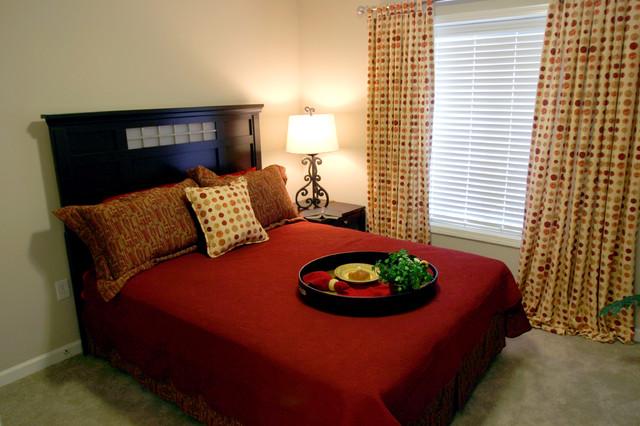 Senior living community omaha bedroom omaha by mary for Carter wells interior design agency