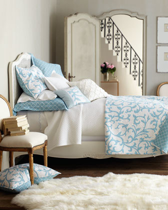 """""""Serendipity"""" Bed Linens traditional-bedroom"""