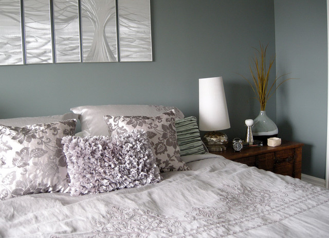 Serene Bedroom Contemporary Bedroom Other Metro By