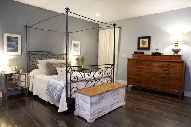 Serene Bedroom Contemporary Bedroom new york by